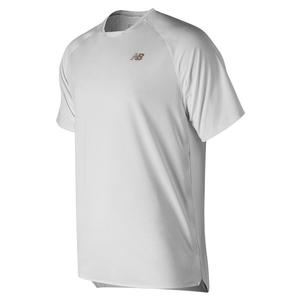 Men`s Tournament Movement Tennis Top White