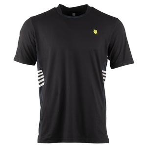 Men`s Hypercourt Tennis Crew Black