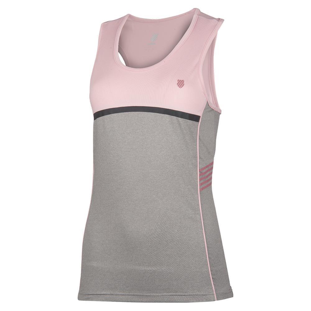 Women's Hypercourt Speed Tennis Tank Light Grey Melange