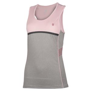 Women`s Hypercourt Speed Tennis Tank Light Grey Melange