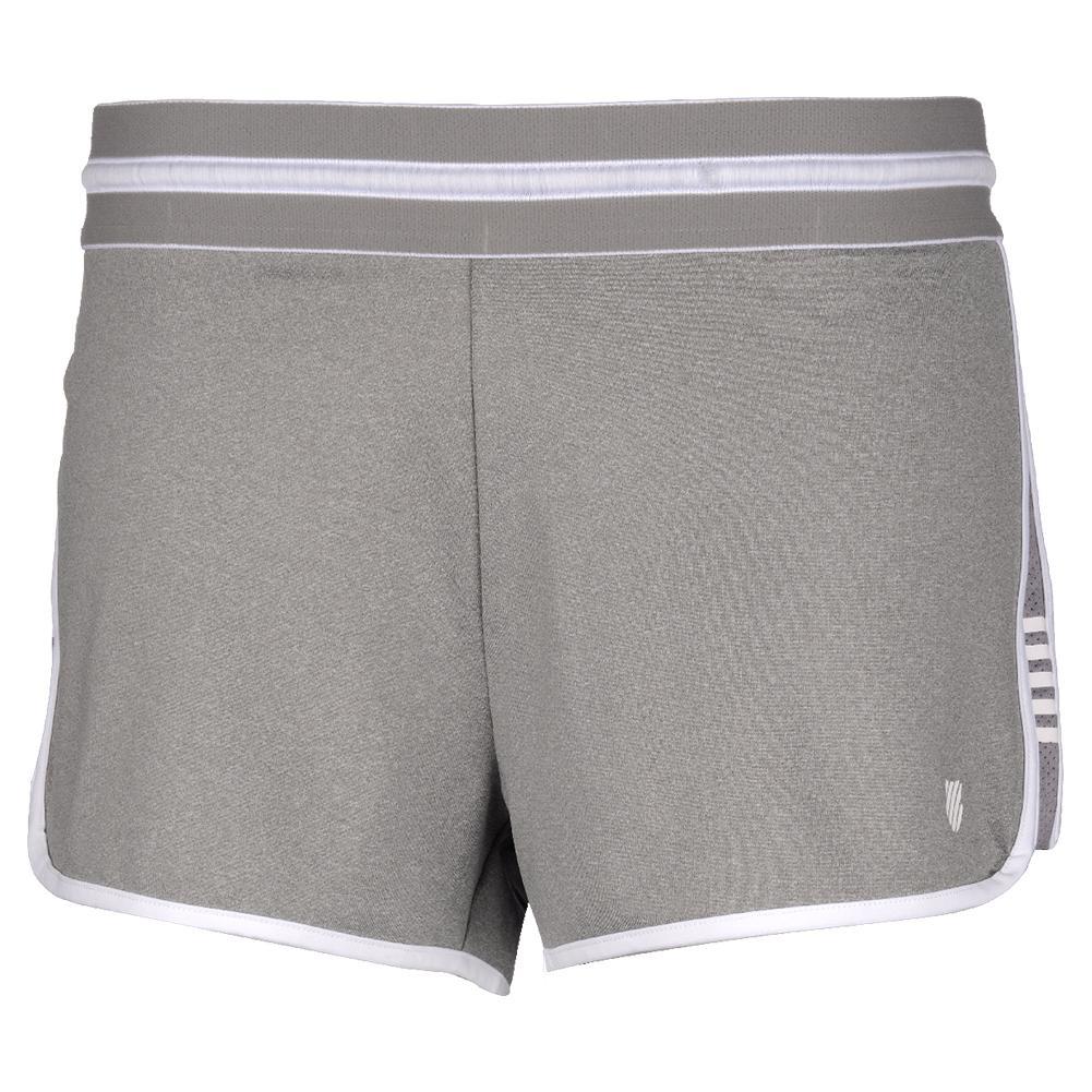 Women's Hypercourt Tennis Short Light Grey