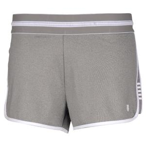 Women`s Hypercourt Tennis Short Light Grey