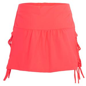 Girls` Why Knot Tennis Skirt Coral Crush