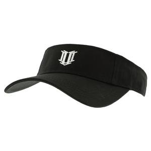 Women`s Low Profile Tennis Visor Black
