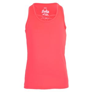 Girls` Why Knot Tennis Tank Coral Crush