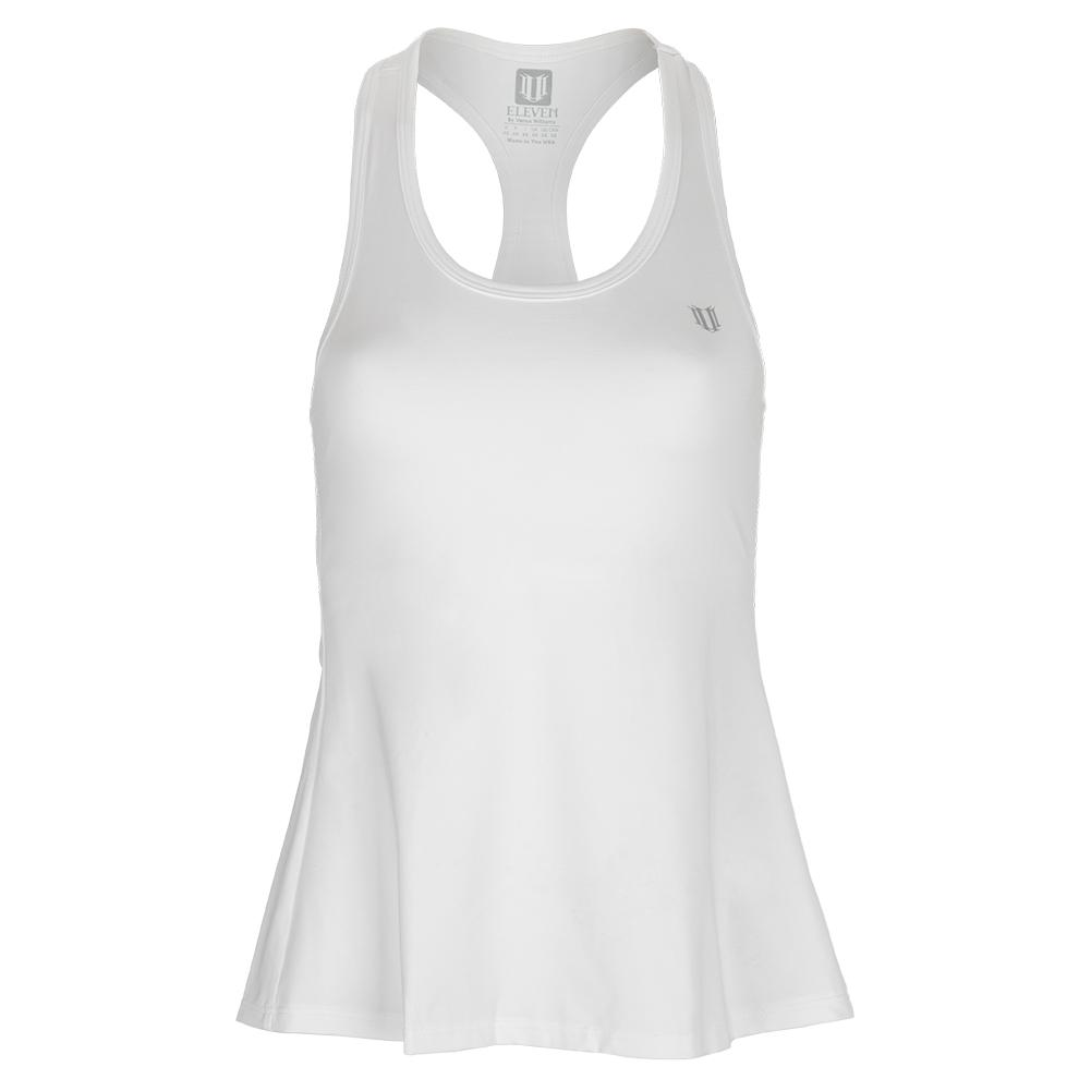 Women's Race Day Tennis Tank White