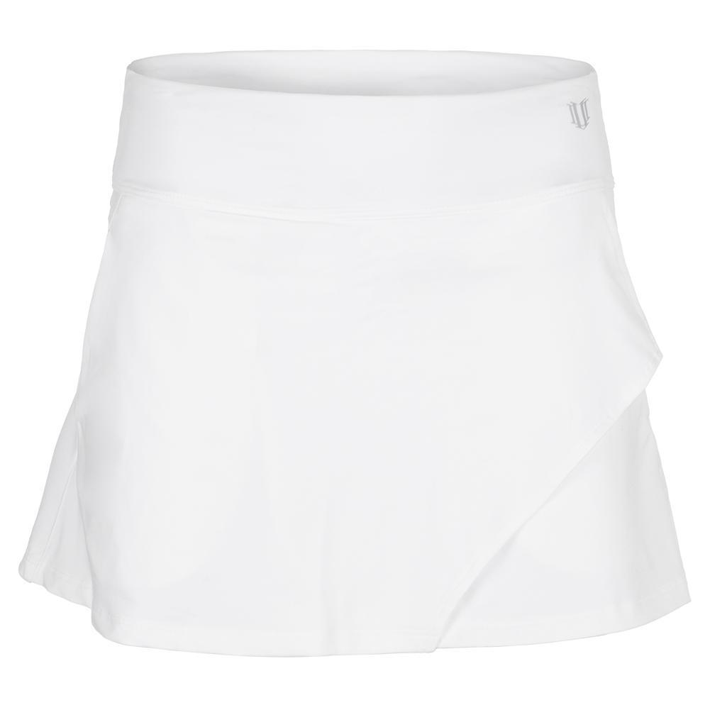 Women's Fly 14 Inch Tennis Skort White