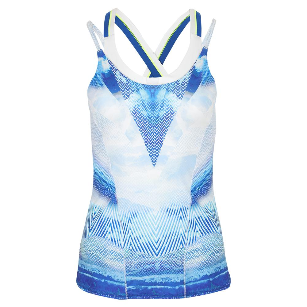 c9386012ff Lucky In Love Women s Axis Point Bralette Tennis Cami