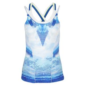 Women`s Bralette Tennis Cami Axis Point Print