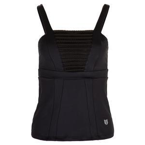 Women`s Breezy Tennis Tank Black