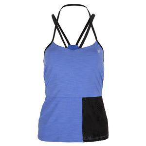 Women`s Vision Tennis Tank Baja Blue