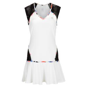 Women`s Lattice Tennis Dress White