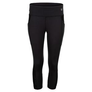 Women`s Orbit Tennis Capri Black