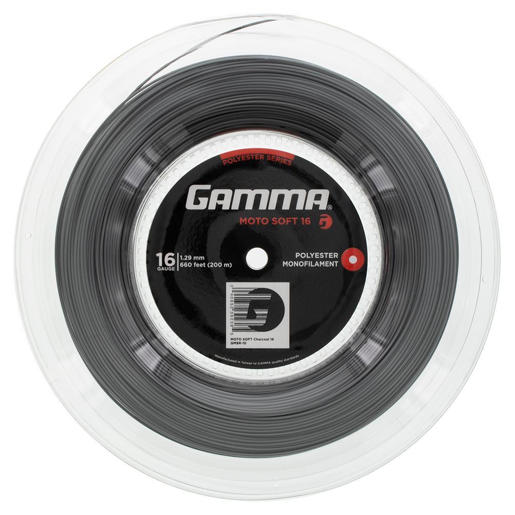 Moto Soft Tennis String Reel Charcoal