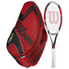 WILSON K Factor KSix-One Team 95 Racquet Combo