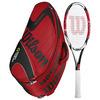 WILSON K Factor KSix-One Team 95 Racquet Combo