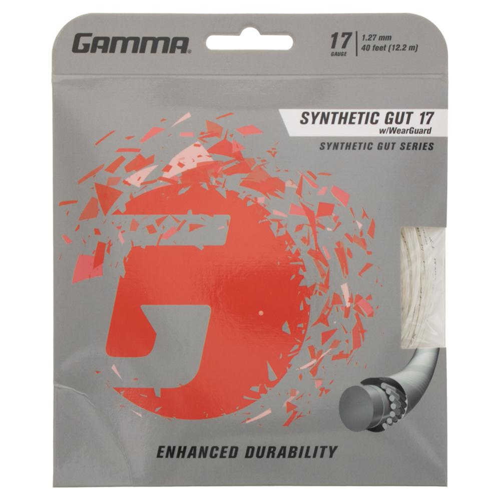 Synthetic Gut With Wearguard 17g Tennis String