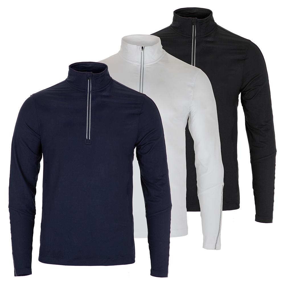 Men's Fundamental Sintra Half Zip Tennis Jacket