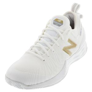 Men`s Fresh Foam Lav D Width Tennis Shoes White
