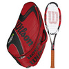 WILSON K Factor KSix-One Tour 90 Racquet Combo