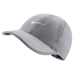 Women`s Court AeroBill Featherlight Tennis Cap Atmosphere Grey