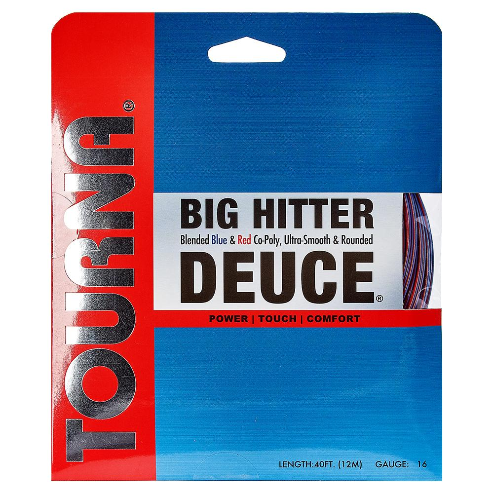 Big Hitter Deuce Tennis String Blue And Red
