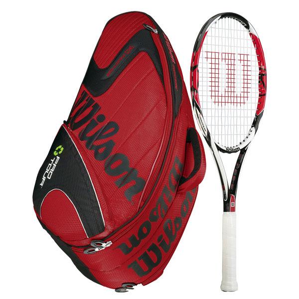 K Factor Ksix- One 95 (16x18) Racquet Combo
