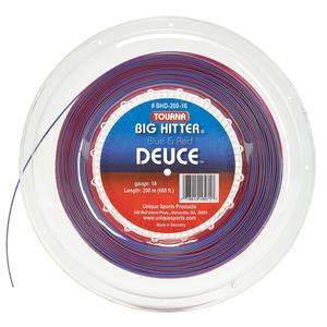 Big Hitter Deuce Tennis String Reel Blue and Red