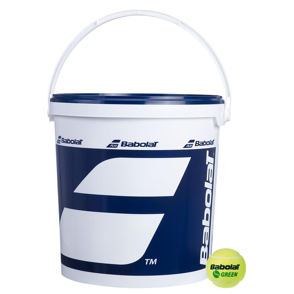 Play And Stay Green Felt 72 Count Bucket Tennis Balls