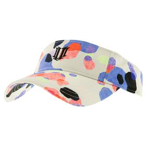 Women`s Low Profile Tennis Visor Isola Print