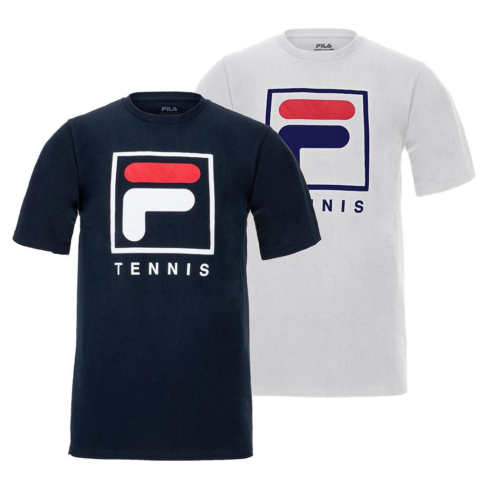 Men's Fundamental F- Box Tennis Tee