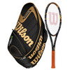 WILSON K Factor KBlade Tour 93 Tennis Racquet Combo