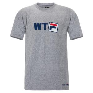 Men`s Fundamental WTF Tennis Tee Grey Heather