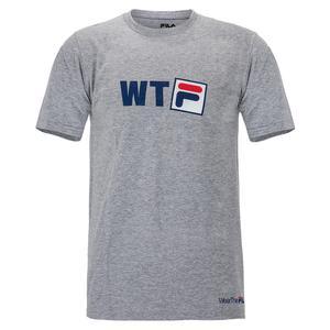 Men`s Fundamental WTF Tennis Tee Grey Heather