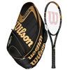 WILSON K Factor KBlade 98 Tennis Racquet Combo