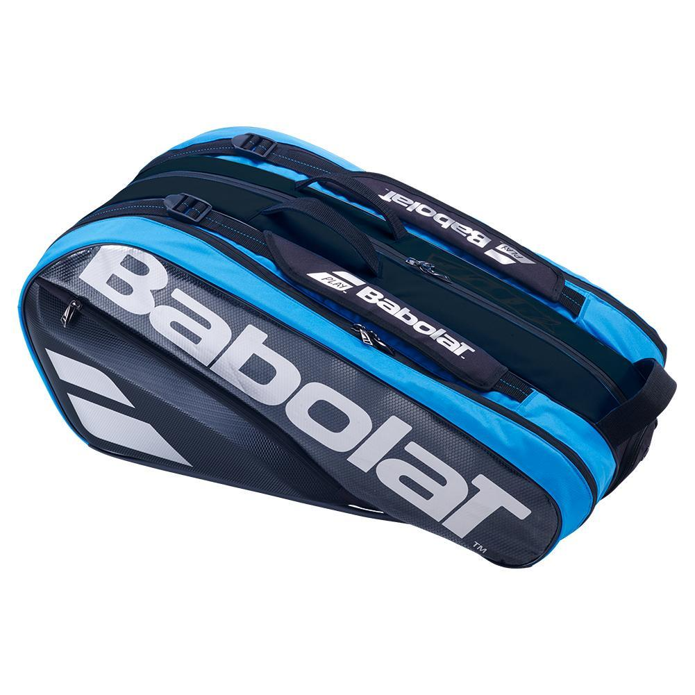 babolat pure drive tennis bags blue 9 pack