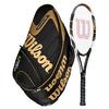 WILSON K Factor KBlade Team 104 Tennis Racquet Combo