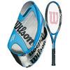 WILSON Kobra Team FX 100 Tennis Racquet Combo