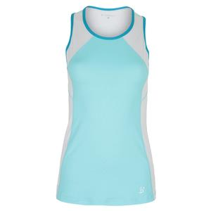 Women`s Topspin Tennis Tank Air and White