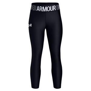 Girls` HeatGear Armour Ankle Crop Black