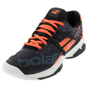 Men`s Propulse Fury All Court Tennis Shoes Black and Fluo Strike
