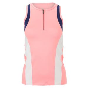 Women`s Stevie Tennis Tank Melon Punch