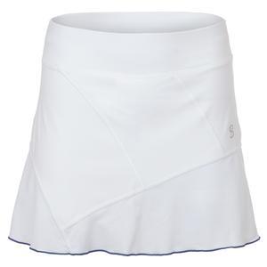 Women`s Follow 14 Inch Tennis Skort White