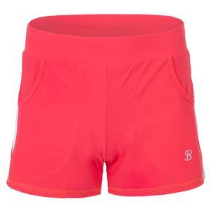 Women`s Formal Tennis Short Coral