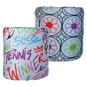 Graffiti/Garden Tennis Wristbands