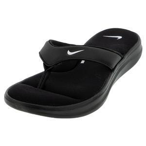 Women`s Ultra Comfort 3 Thong Sandal Black and White