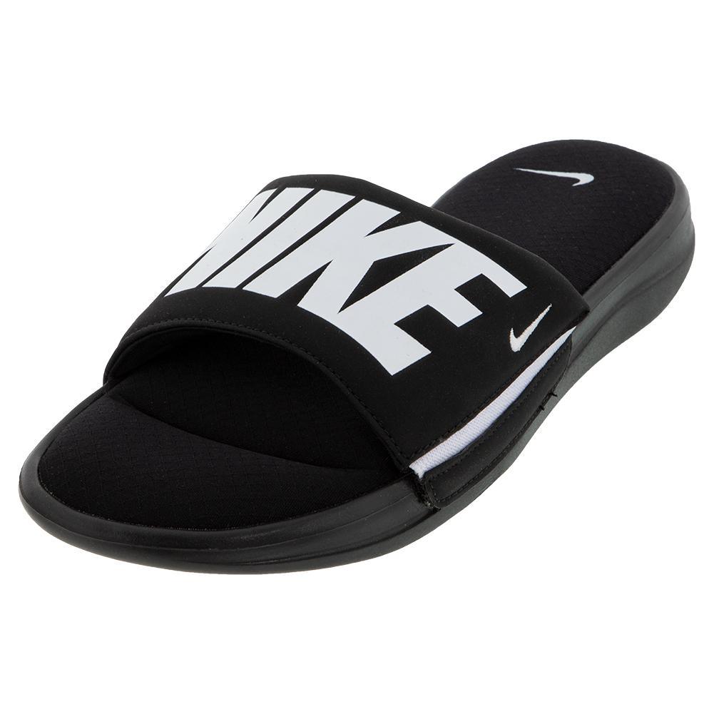 promo code 9188d 44e71 Men s Ultra Comfort 3 Slide Black And White
