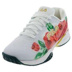Women`s Axilus 2 Energized Tennis Shoes White and Desert Flower