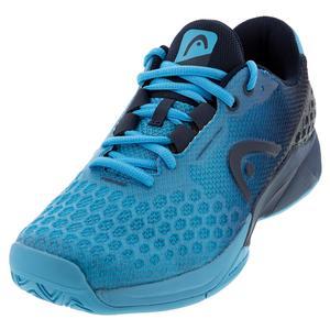 Men`s Revolt Pro 3.0 Tennis Shoes Aqua and Dark Blue