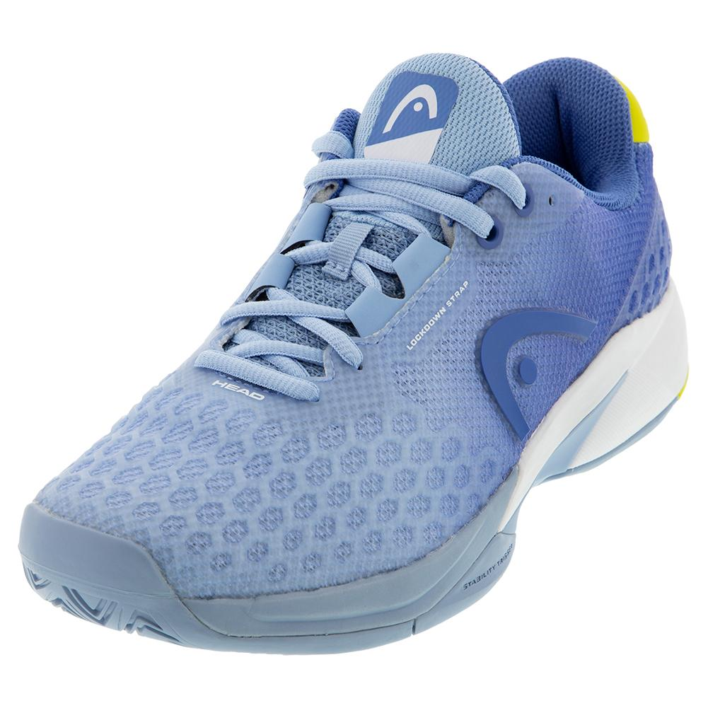 Women's Revolt Pro 3.0 Tennis Shoes Light Blue And Yellow